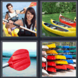 4-pics-1-word-canoe