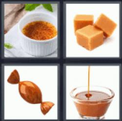 4-pics-1-word-caramel