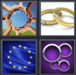 4-pics-1-word-circle
