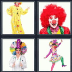 4-pics-1-word-clown