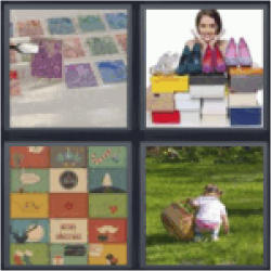 4 pics 1 word stamp collection