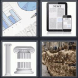 4-pics-1-word-column