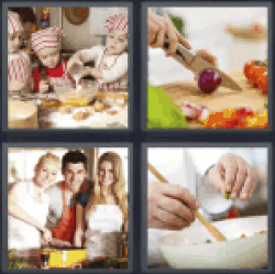 4-pics-1-word-cookery