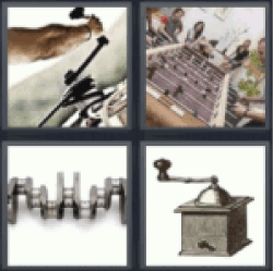 4 pics one word 5 letters