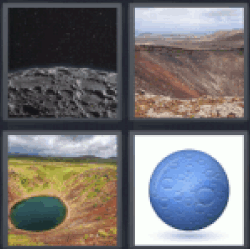 4-pics-1-word-crater
