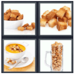 4-pics-1-word-croutons