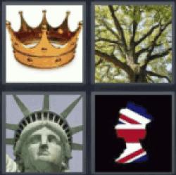 4 pics 1 word gold crown queen