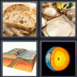 4-pics-1-word-crust