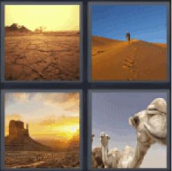 4-pics-1-word-desert