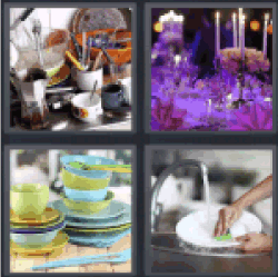 4-pics-1-word-dishes