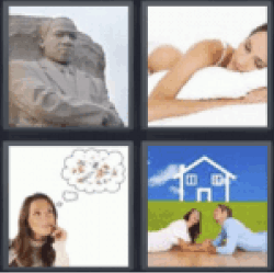 4 Pics 1 Word Martin Luther King Jr Statue