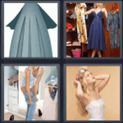 4-pics-1-word-dress