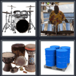 4-pics-1-word-drums