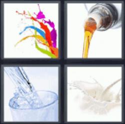 4-pics-1-word-fluid