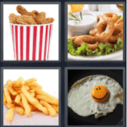4-pics-1-word-fried