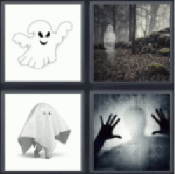 4-pics-1-word-ghost