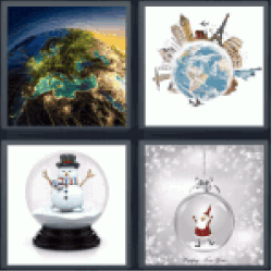 4-pics-1-word-globe