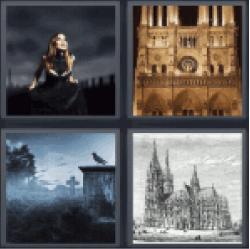 4-pics-1-word-gothic