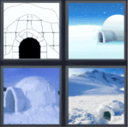 4-pics-1-word-igloo
