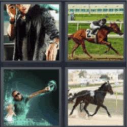 4 pics 1 word horse