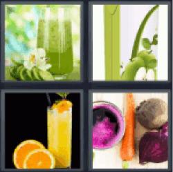 4-pics-1-word-juice