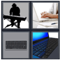 4-pics-1-word-keyboard