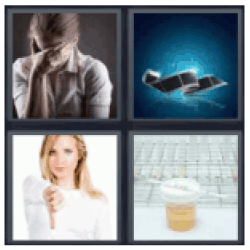 4 pics 1 word urine test