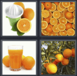 4-pics-1-word-orange
