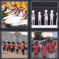 4-pics-1-word-parade