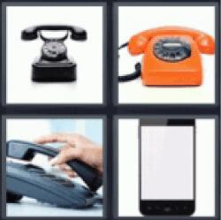 4-pics-1-word-phone