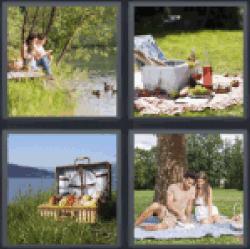 4-pics-1-word-picnic