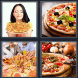 4-pics-1-word-pizza