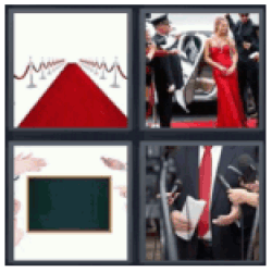 4 pics 1 word red carpet