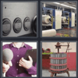 4 Pics 1 Word Stereo buttons