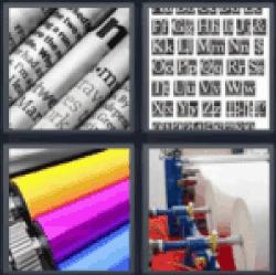 4 Pics 1 Word Newspaper