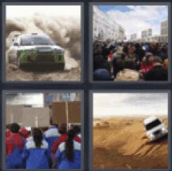 4 pics 1 word racing car