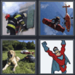 4-pics-1-word-rescue