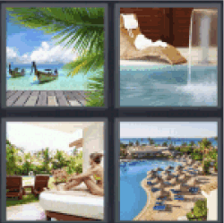 4-pics-1-word-resort