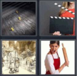 4-pics-1-word-scene