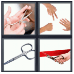 4-pics-1-word-scissors
