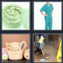 4-pics-1-word-scrub