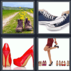 4-pics-1-word-shoes