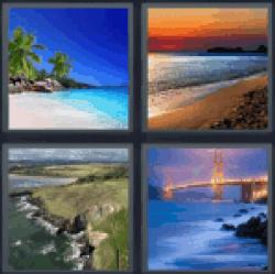 4-pics-1-word-shore