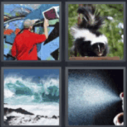 4 Pics 1 Word Man painting