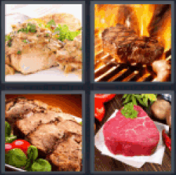 4-pics-1-word-steak