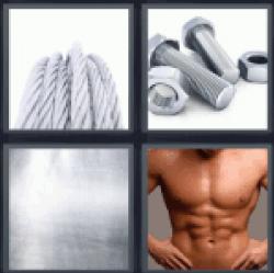 4-pics-1-word-steel