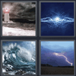 4-pics-1-word-stormy