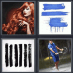 4 Pics 1 Word Red hair
