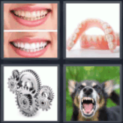 4-pics-1-word-teeth