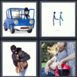 4-pics-1-word-thief